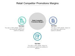 Retail Competitor Promotions Margins Ppt Powerpoint Presentation File Maker Cpb