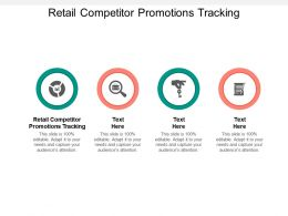 Retail Competitor Promotions Tracking Ppt Powerpoint Presentation Portfolio Master Slide Cpb