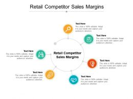 Retail Competitor Sales Margins Ppt Powerpoint Presentation Summary Show Cpb