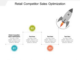 Retail Competitor Sales Optimization Ppt Powerpoint Presentation Gallery Backgrounds Cpb