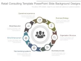 Retail Consulting Template Powerpoint Slide Background Designs