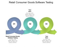 Retail Consumer Goods Software Testing Ppt Powerpoint Presentation Background Cpb