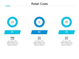 Retail Costs Ppt Powerpoint Presentation Icon Format Ideas Cpb