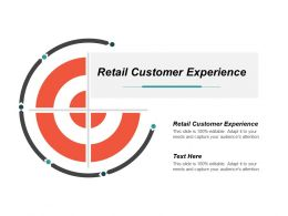 Retail Customer Experience Ppt Powerpoint Presentation File Graphics Template Cpb