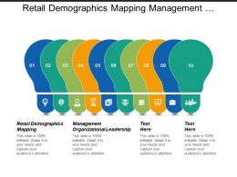 retail demographics mapping management organizational leadership recovery plan cpb