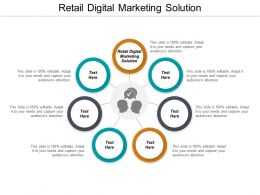 Retail Digital Marketing Solution Ppt Powerpoint Presentation Gallery Skills Cpb
