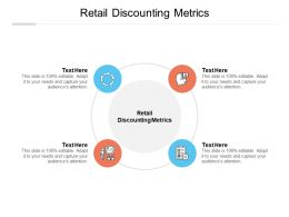 Retail Discounting Metrics Ppt Powerpoint Presentation Gallery Show Cpb