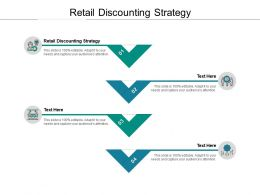 Retail Discounting Strategy Ppt Powerpoint Presentation Portfolio Diagrams Cpb