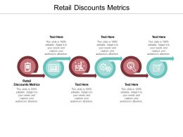 Retail Discounts Metrics Ppt Powerpoint Presentation Pictures Icon Cpb