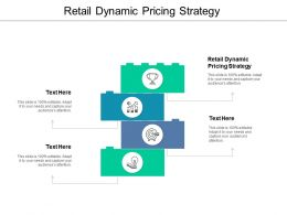 Retail Dynamic Pricing Strategy Ppt Powerpoint Presentation Infographic Template Templates Cpb