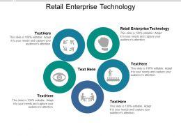 Retail Enterprise Technology Ppt Powerpoint Presentation Slides Background Designs Cpb
