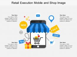 Retail Execution Mobile And Shop Image