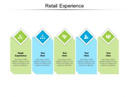 Retail Experience Ppt Powerpoint Presentation Show Ideas Cpb