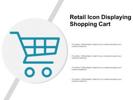 Retail Icon Displaying Shopping Cart