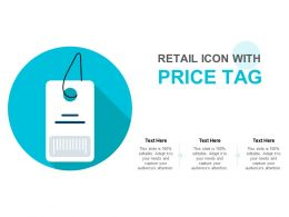 Retail Icon With Price Tag