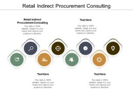 Retail Indirect Procurement Consulting Ppt Powerpoint Presentation Ideas Images Cpb