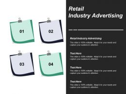 Retail Industry Advertising Ppt Powerpoint Presentation Inspiration Gallery Cpb