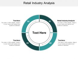 Retail Industry Analysis Ppt Powerpoint Presentation Show Rules Cpb