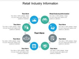 Retail Industry Information Ppt Powerpoint Presentation Show Rules Cpb