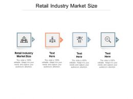 Retail Industry Market Size Ppt Powerpoint Presentation Model Format Cpb