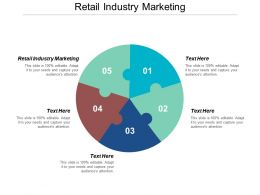 Retail Industry Marketing Ppt Powerpoint Presentation Gallery Slideshow Cpb