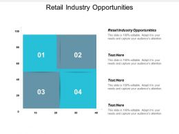 Retail Industry Opportunities Ppt Powerpoint Presentation Gallery Files Cpb