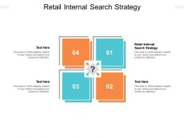 Retail Internal Search Strategy Ppt Powerpoint Presentation Ideas Design Templates Cpb
