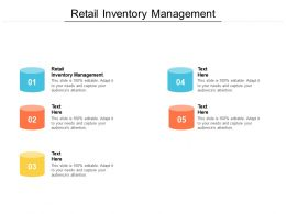 Retail Inventory Management Ppt Powerpoint Presentation File Example Cpb