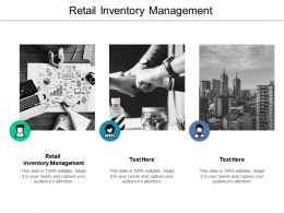 Retail Inventory Management Ppt Powerpoint Presentation Show Infographic Template Cpb