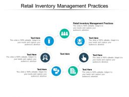 Retail Inventory Management Practices Ppt Powerpoint Presentation Icon Gallery Cpb