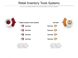 Retail Inventory Tools Systems Ppt Powerpoint Presentation Ideas Slides Cpb