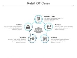Retail IOT Cases Ppt Powerpoint Presentation Pictures Graphics Example Cpb