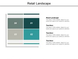Retail Landscape Ppt Powerpoint Presentation Model Design Inspiration Cpb