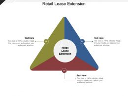 Retail Lease Extension Ppt Powerpoint Presentation Infographic Template Shapes Cpb