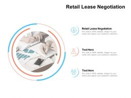 Retail Lease Negotiation Ppt Powerpoint Presentation Professional Example Cpb