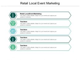 Retail Local Event Marketing Ppt Powerpoint Presentation Gallery Icons Cpb