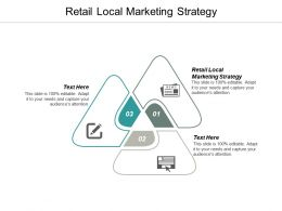 Retail Local Marketing Strategy Ppt Powerpoint Presentation Infographic Template Themes Cpb