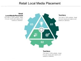 Retail Local Media Placement Ppt Powerpoint Presentation Slides Files Cpb