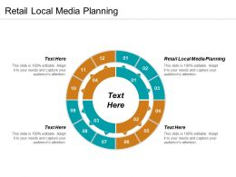 Retail Local Media Planning Ppt Powerpoint Presentation Gallery Smartart Cpb
