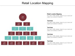 Retail Location Mapping Ppt Powerpoint Presentation Gallery Diagrams Cpb