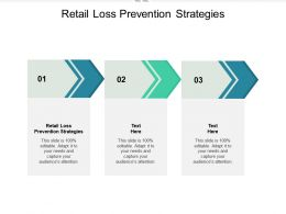 Retail Loss Prevention Strategies Ppt Powerpoint Presentation Gallery Graphics Template Cpb