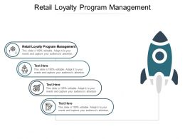 Retail Loyalty Program Management Ppt Powerpoint Presentation Portfolio Slides Cpb