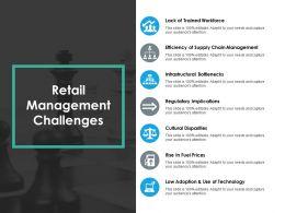 Retail Management Challenges Ppt Professional Designs Download