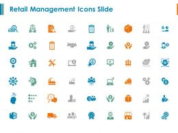 Retail Management Icons Slide Gears Ppt Powerpoint Presentation Model Visuals