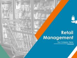 Retail Management PowerPoint Presentation Slides