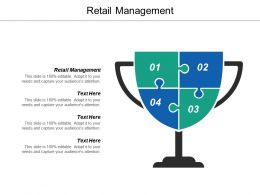 Retail Management Ppt Powerpoint Presentation Ideas Structure Cpb