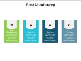 Retail Manufacturing Ppt Powerpoint Presentation Professional Designs Cpb