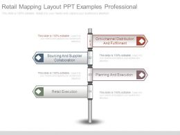 Retail Mapping Layout Ppt Examples Professional