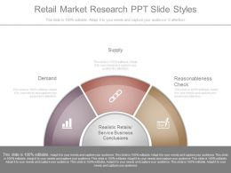Retail Market Research Ppt Slide Styles