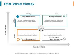 Retail Market Strategy Market Expansion Ppt Powerpoint Presentation Model Summary